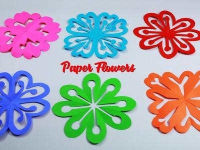 6 Easy Paper Flowers | DIY Paper Flower Design | DIY Paper Crafts | Paper Girl