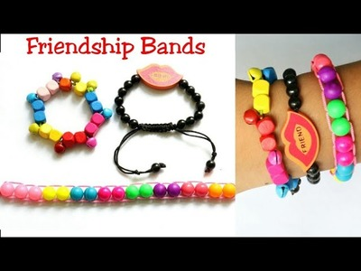 #Bracelets #Friendshipbands |3 Easy Bracelets making| Beads bracelets|DIY Friendship Bracelets