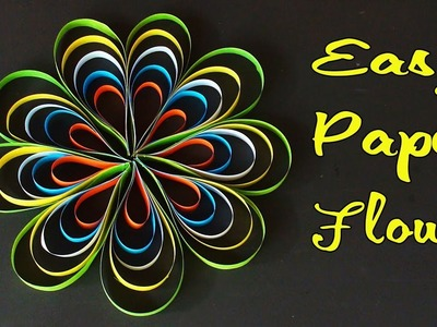Decorative Crafts - Homecraft - Easy Paper Crafts Flowers - কাগজের তৈরি জিনিস