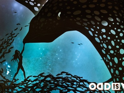 Dive Into This Aquatic Dreambox Made Entirely From Paper