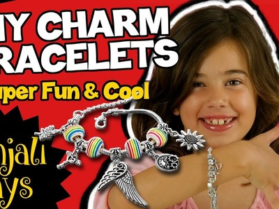 DIY Charm Bracelets - Super Fun Kit by JustBe