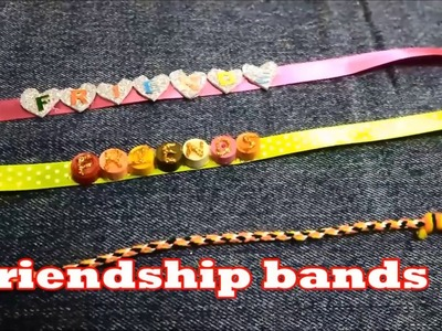 DIY Friendship Bracelets |How to Make Friendship Band at Home|Happy Friendship Day 2018