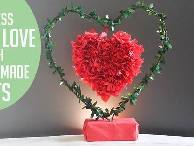 DIY Paper crafts | unique valentine's Day gifts | diy show showpiece |