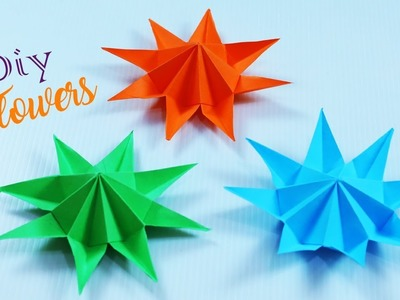 DIY Paper Flowers || How To Make Paper Flowers || Origami Paper Flowers || Paper Girl