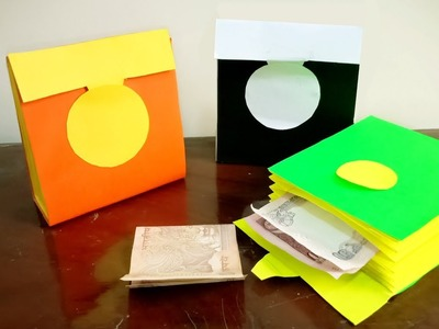 DIY Paper Pouch | How to make Paper Wallet | Crafts Junction