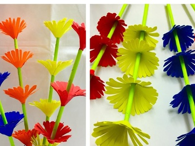 Easy flower making with paper | How to Make A Sticky Gift Flower