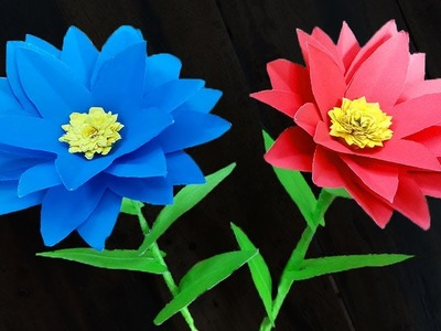 FlowerUPC | How to Make Paper Flowers | paper flower origami | Paper Flowers Tutorial