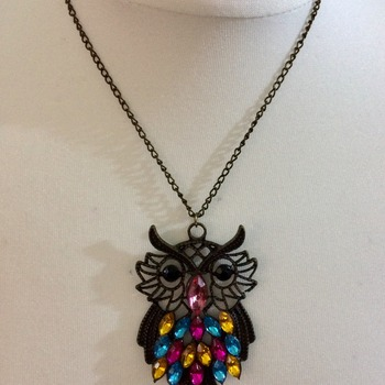 Large Owl - Fundraising Project - Fashion Jewellery -