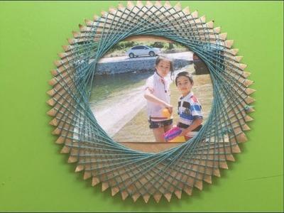 Gear photo frame crafts | how to diy gear photo frame | handmade