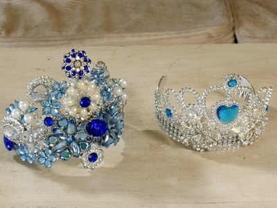 How to make a Jewelled Crown on a Budget