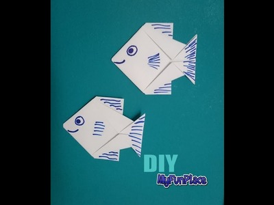 How To Make A Paper Fish - Origami - Tutorial
