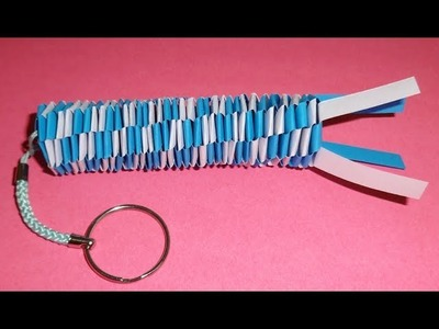 How to Make a Paper Keychain