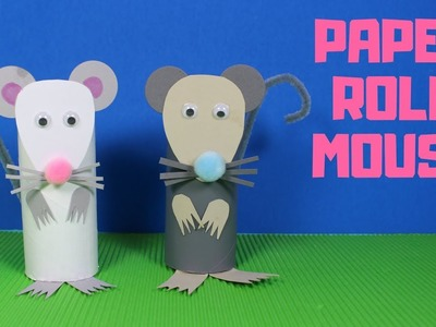 How to Make a Paper Roll Mouse
