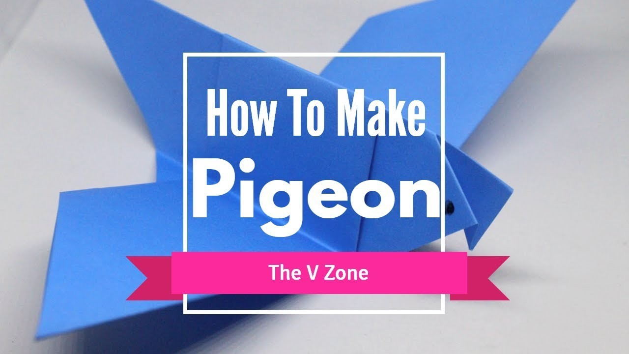 How To Make a Pigeon | How To Make Origami Bird