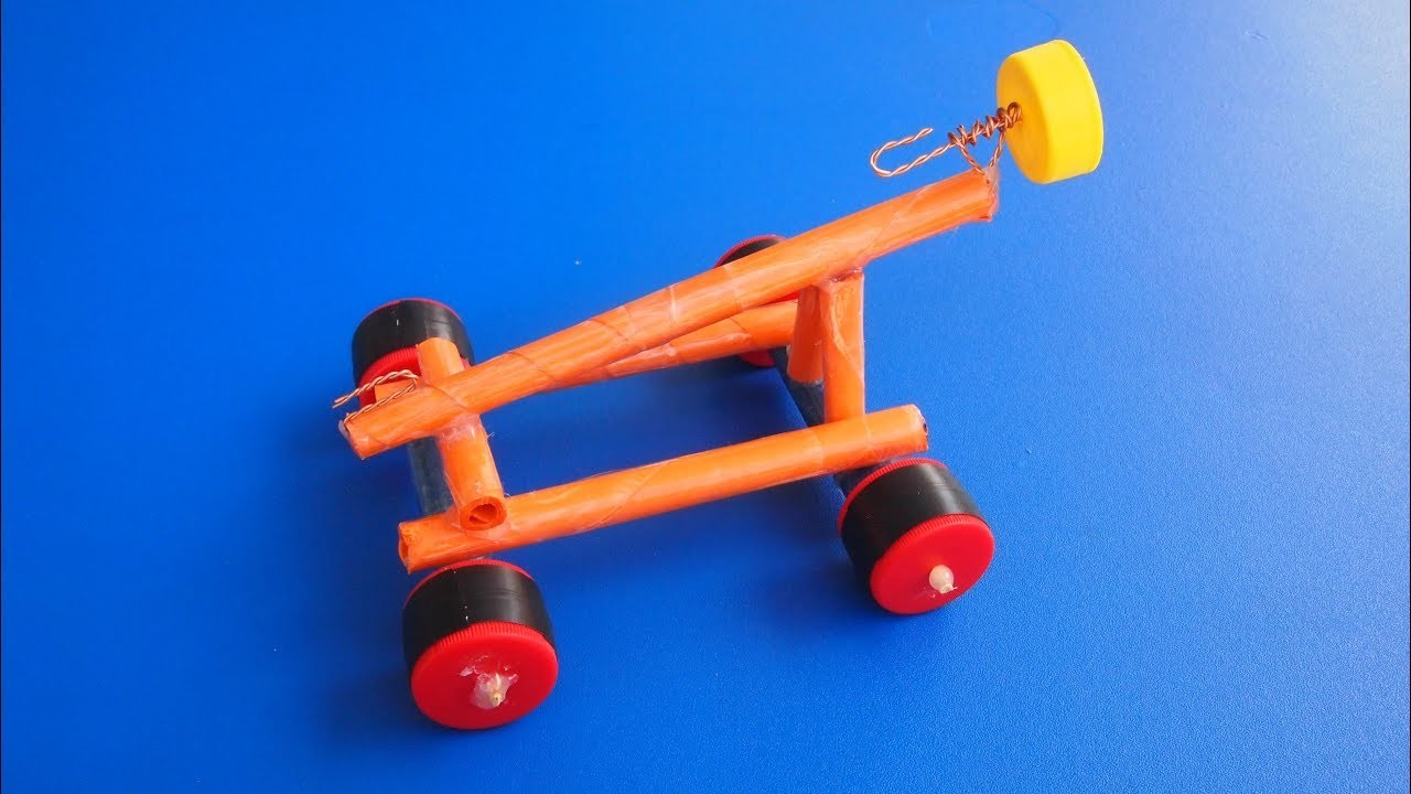 How to make a Primitive Car - Amazing Paper DIY