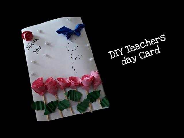 How to make a Thank You Card for Teacher's day | Rakshabhandan | Handmade Greeting Card