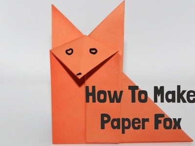 How To Make an Origami Fox | Easy Origami Paper Fox