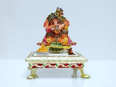 How to Make Clay Ganesha. Ganesha Decoration. Bal Ganesha