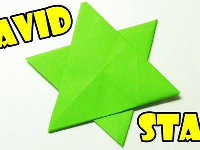 How to make EASY ORIGAMI STAR | ORIGAMI DAVID STAR