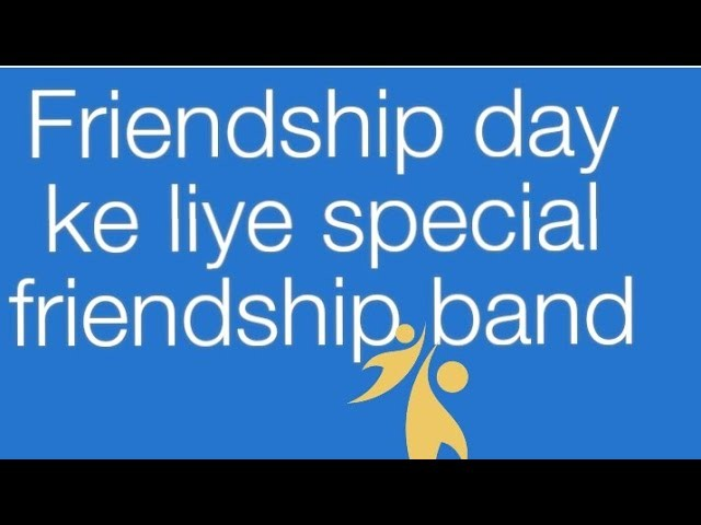 How to make Friendship Band | Friendship day special |diy shivani|