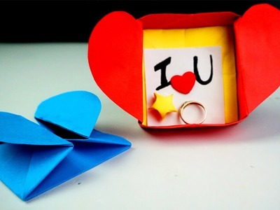 DIY Origami Heart Box- Secret Message (easy : 15 Steps - Instructables | 300x400