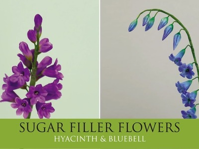 How to Make Hyacinth, Bluebell | Sugar Filler Flowers Part 5