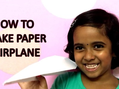 How To Make Paper Aeroplane | Airplane That Fly Far | Easy & Simple DIY Craft