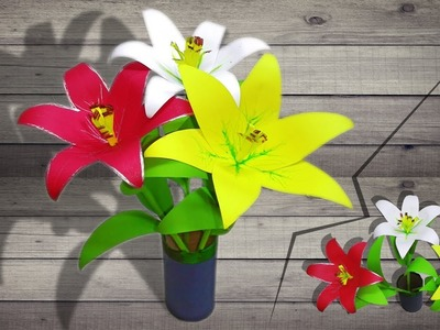 How to Make Paper Flower Easily at Home | linascraftclub