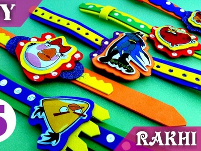 How to make Rakhi at home.5 DIY best rakhi ideas by ART MANRTA.