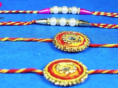 How to make Rakhi at home I 2 Rakhi ideas for Brothers I Raksha Bandhan Special I Creative Diaries