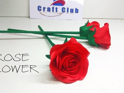 How to Make Small Rose Paper Flowers   linascraftclub