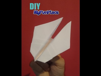 How To Make Star Wars Jet F-14 Paper Airplane