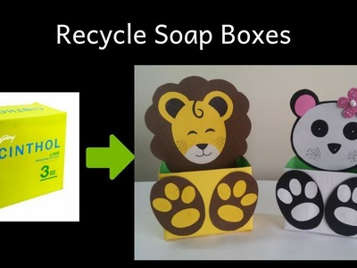 How To Recycle Soap Boxes | Best Out of Waste | Soap Box reuse Idea | DIY | Kids Craft