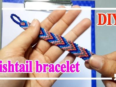 Make a Fishtail Bracelet | Friendship Bracelet | DIY