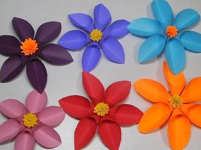 Origami Paper Flower for Wall Decor
