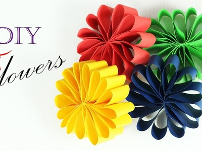 Origami Paper Flower | How To Make Paper Flowers - Paper Crafts | Paper Girl