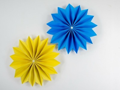 Paper Flower - How To Make Paper Flower - DIY