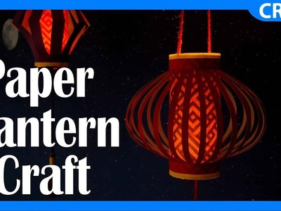 Paper Lantern Crafts   DIY Free Material Project