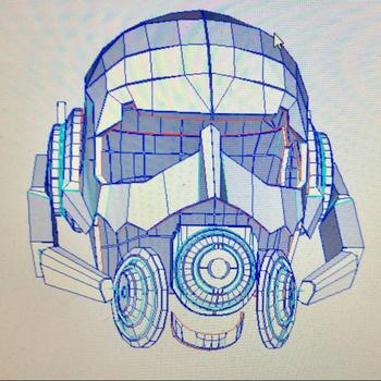 Pre-Cut, Super Hero, Antman Helmet, 160 gsm, Paper Template, Cosplay,