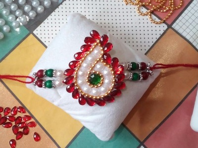 Rakhi Making Ideas at Home #6 | How to Make Rakhi For School Competition | Catchy Crafts