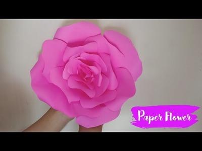 Cara Membuat Origami Bunga Mawar Biru Tutorial Kerajinan Tangan ... | 300x400
