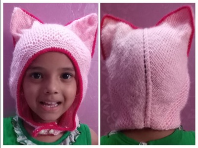 Very easy and unique cat ears cap|hindi