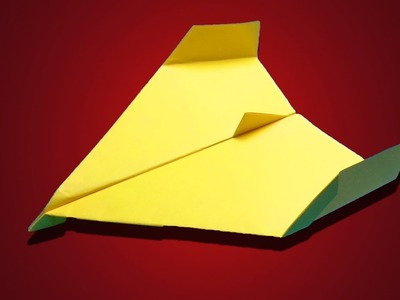 World record paper plane,How to make paper aeroplane,Paper plane tutorial,