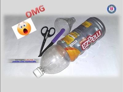 Best out of waste Plastic bottle Reuse idea|Art&craft for kids|DIY Craft|ssarts crafts