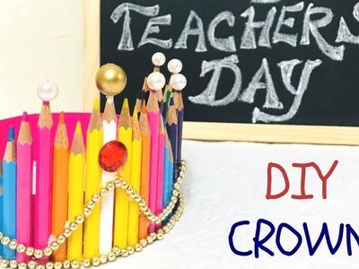 *BEST TEACHER CROWN* | DIY Teachers Day Gift Ideas | Easy Diy for Kids