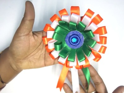 Make Happy Independence Day 2018 How To Make 3d Flag Step By Step