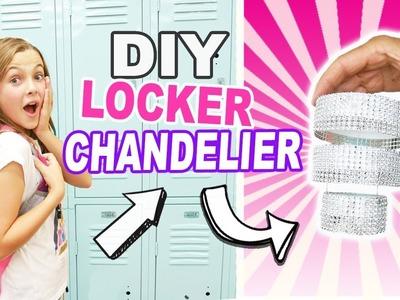 DIY Mini Locker Chandelier. Easy BACK TO SCHOOL Crafts For Kids. Locker Decor