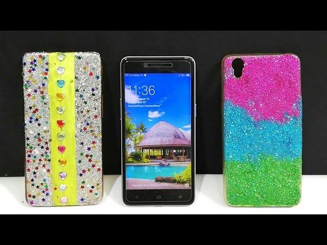 DIY Phone Cover Decoration idea - Easy Phone case Life hacks
