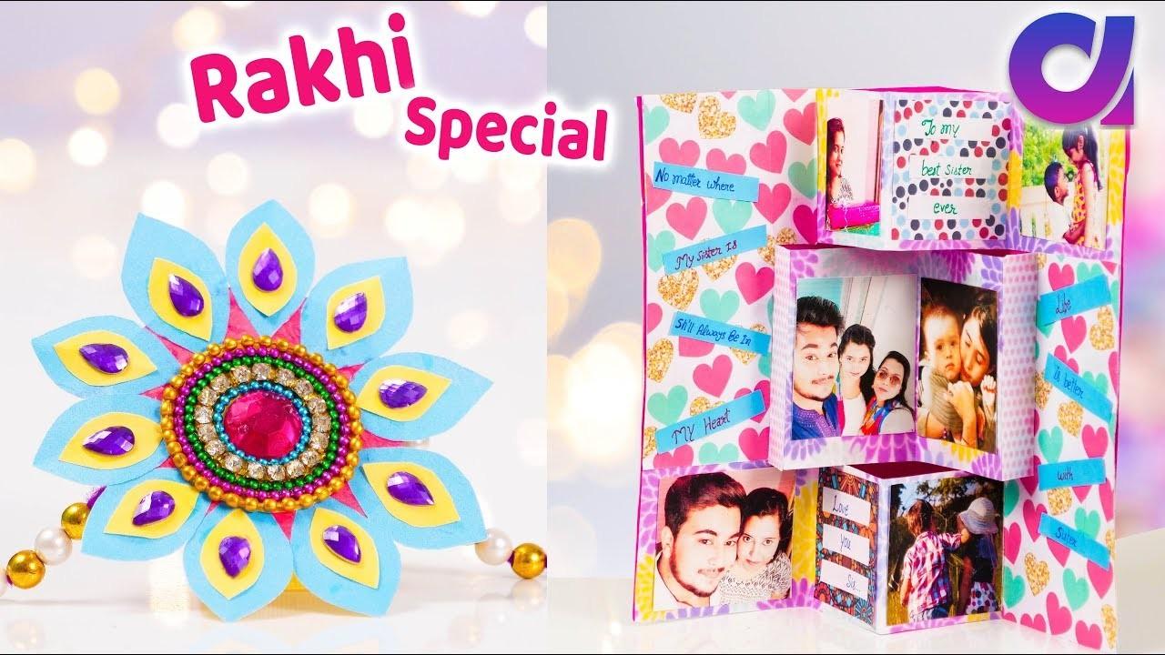 DIY Rakhi and Gifts with HP Ink Tank Printer   raksha bandhan   Artkala