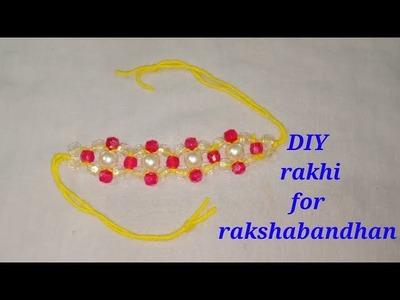 DIY rakhi for rakshabandhan easy and beautiful